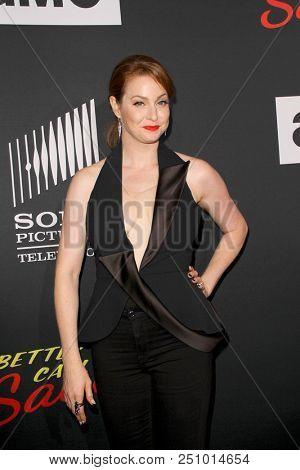 Esme Bianco arrives at the AMC's