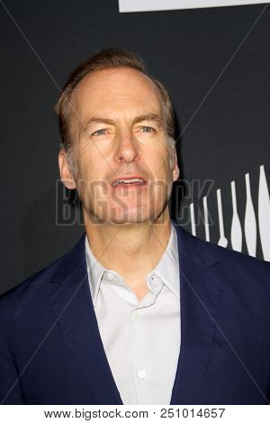 Bob Odenkirk arrives at the AMC's