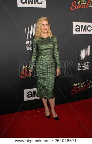 Rhea Seehorn arrives at the AMC's