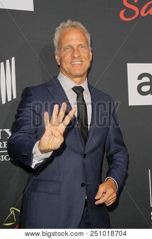 Patrick Fabian arrives at the AMC's