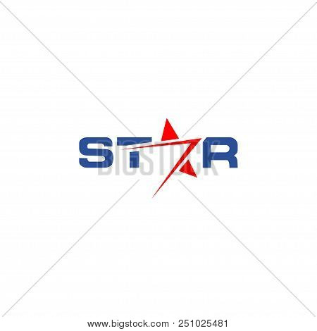 Illustration Of Wordmark Logo Design Template Vector