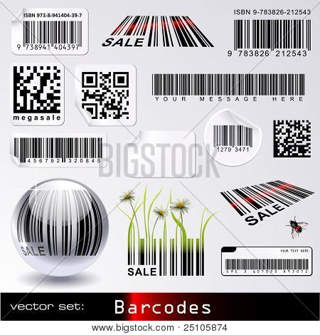 vector set: barcodes
