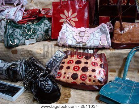 Handbags At The Market