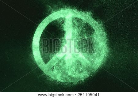 Peace Sign, Peace Symbol Green Symbol Green Symbol