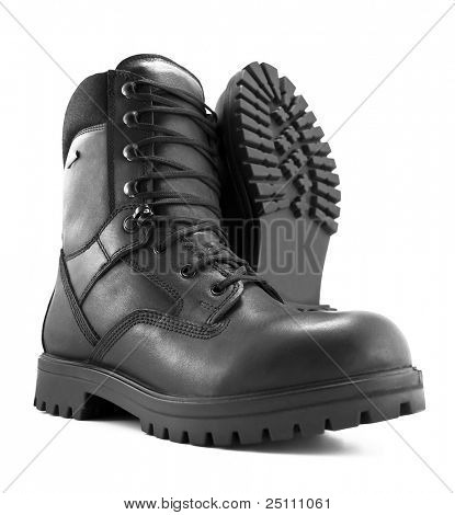Photo of an adventure boot.