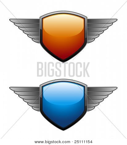 Shiny Shield in two different colors.