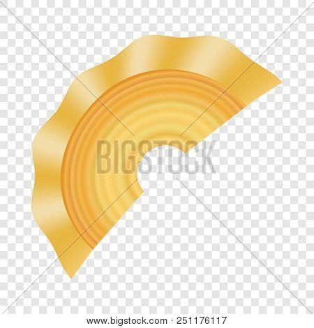 Creste Di Gallo Pasta Icon. Realistic Illustration Of Creste Di Gallo Pasta Vector Icon For On Trans