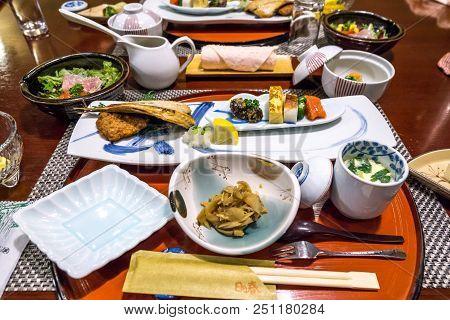 Japanese Traditional Breakfast