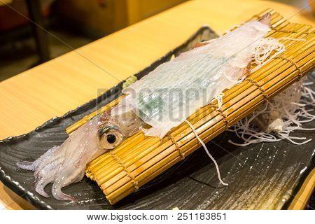 Ika Squid Sashimi