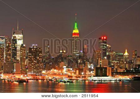 Манхэттен в канун Рождества