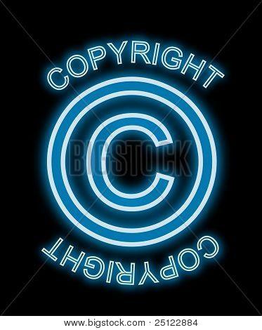 Copyright Neon Blue