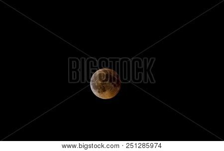 Full Blod Moon Eclipse, July 27 2018, From Malta