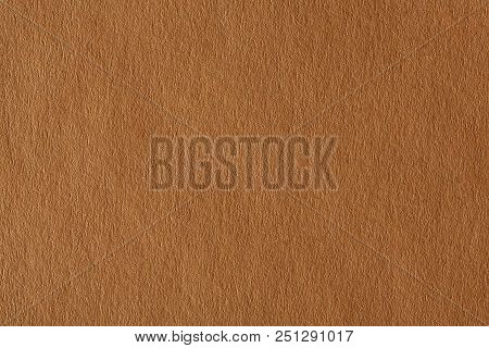 Photograph Of Light Brown Paper. High Resolution Photo.