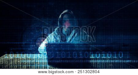 Cyber Security Exploit with Hacking Protection Concept