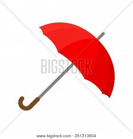 Umbrella Icon. Flat Illustration Of Umbrella Vector Icon Isolated On White Background