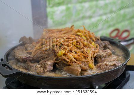 Suwon Pork Galbi Ribs