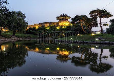 Suwon Banghwasuryu Jeong Reflections