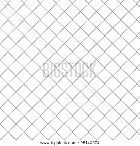 Chain Link Fence Vector Seamless Pattern