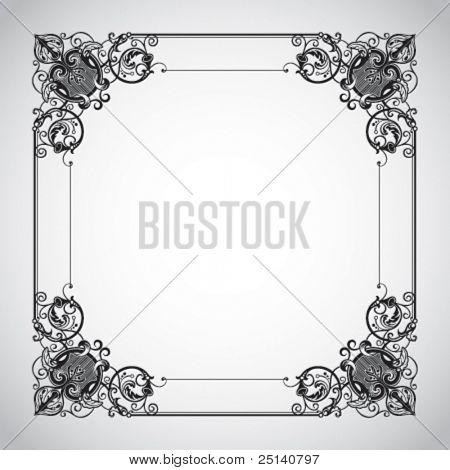 Decorative Vintage Frame Series