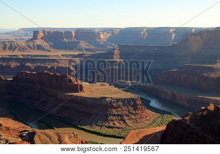 The River In Dead Horse Point State Park In Usa
