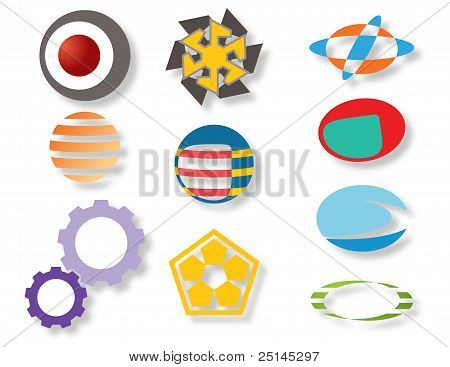 design graphic icon elements