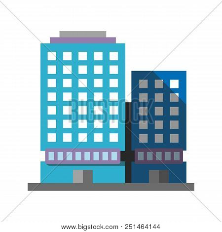 Office Building Flat Vector Photo Free Trial Bigstock