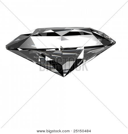 Jewelry gems shape of trillion