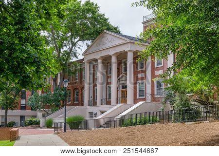 Robert E. Park Hall At University Of Georgia