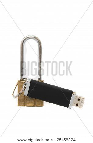 memory stick and lock