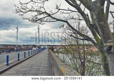 Royal Tweed Bridge, The Concrete Road Bridge Across The River Tweed Between Berwick-upon-tweed And T
