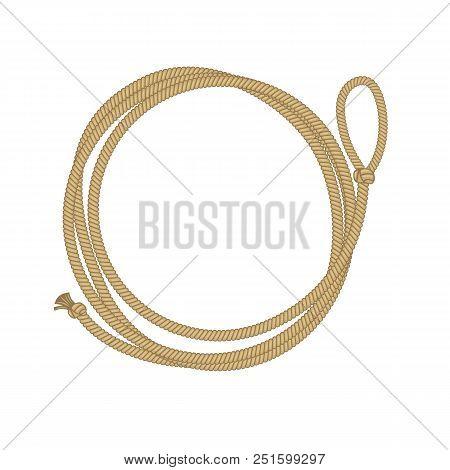 Western Cowboy Rope Prop Lasso