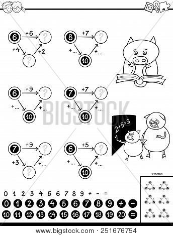 Addition Educational Game For Kids