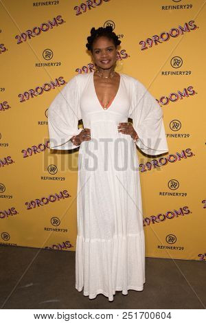 CHICAGO - JUL 25: Actress Kimberly Elise attends Refinery29's