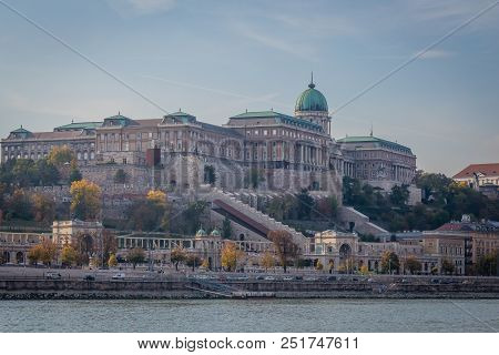 Building By The Danube In Budapest, Hungary