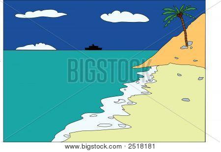 Tropical-Beach.Eps