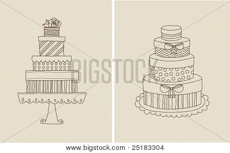 Cake and giflts
