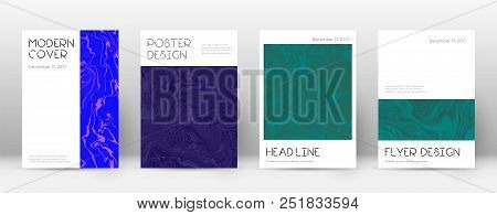 Abstract Cover. Valuable Design Template. Suminagashi Marble Minimal Poster. Valuable Trendy Abstrac