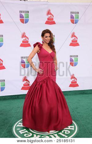 LOS ANGELES - NOV 10:  Lourdes Estefan arrives at the 12th Annual Latin GRAMMY Awards at Mandalay Bay on November 10, 2011 in Las Vegas, NV