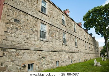 Soldiers Barracks In Historic Garrison District - Fredericton - Canada