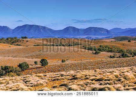 Flinders Ranges Mountain Range In South Australia