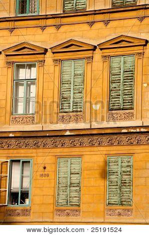 Facade In Vienna