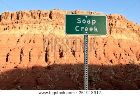 A Strangely Named Dry Creek In Arizona Near The Vermillion Cliffs That Implies That You Can Take A B