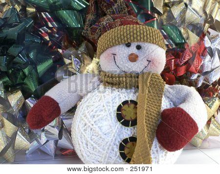 Snowman & Bows