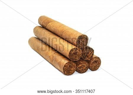 Fat Premium Cuban Cigars, Lighter Tobacco Leaves, Hand Rolled. Real Expensive Cuban Cigars.