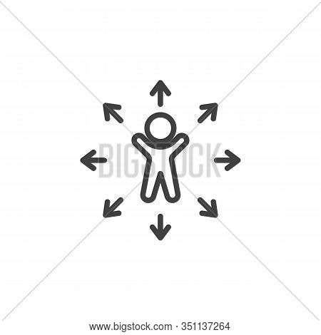 Decision Making Line Vector Photo Free Trial Bigstock