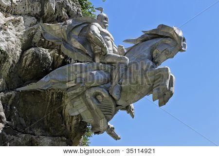 St. George auf den Pferdewagen-Sieg das Böse