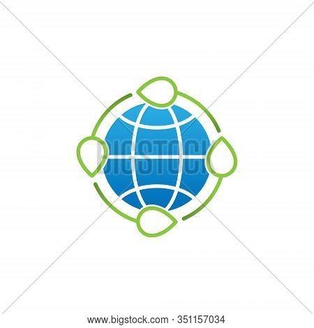 Ecology, World environment icon, Eco Friendly icon, Ecology vector, Ecology icon vector, Ecology logo, Ecology symbol, Ecology web icon, Eco Friendly icon sign for logo, web, app, UI. Flat Ecology icon isolated on white background.