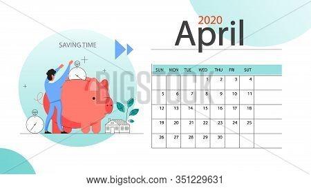 Real Estate Advantage Annual Calendar April. Idea Of House For Sale