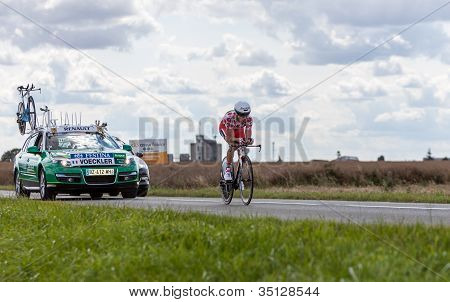The Cyclist Thomas Voeckler