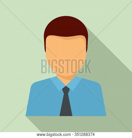 Lawyer Avatar Icon. Flat Illustration Of Lawyer Avatar Vector Icon For Web Design